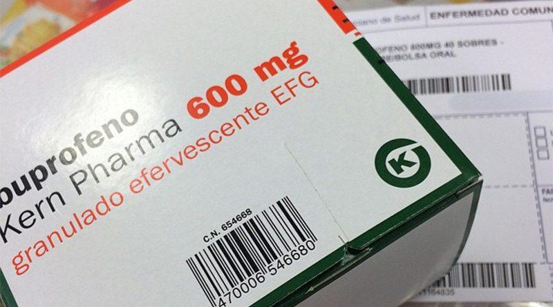 Se pone una caja de Ibuprofeno como supositorios porque le daban ardores