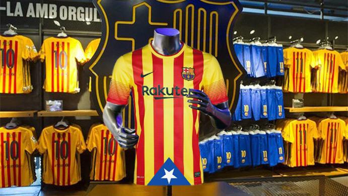 El F.C. Barcelona jugará el Clásico con una camiseta independentista 05324d5b1a0