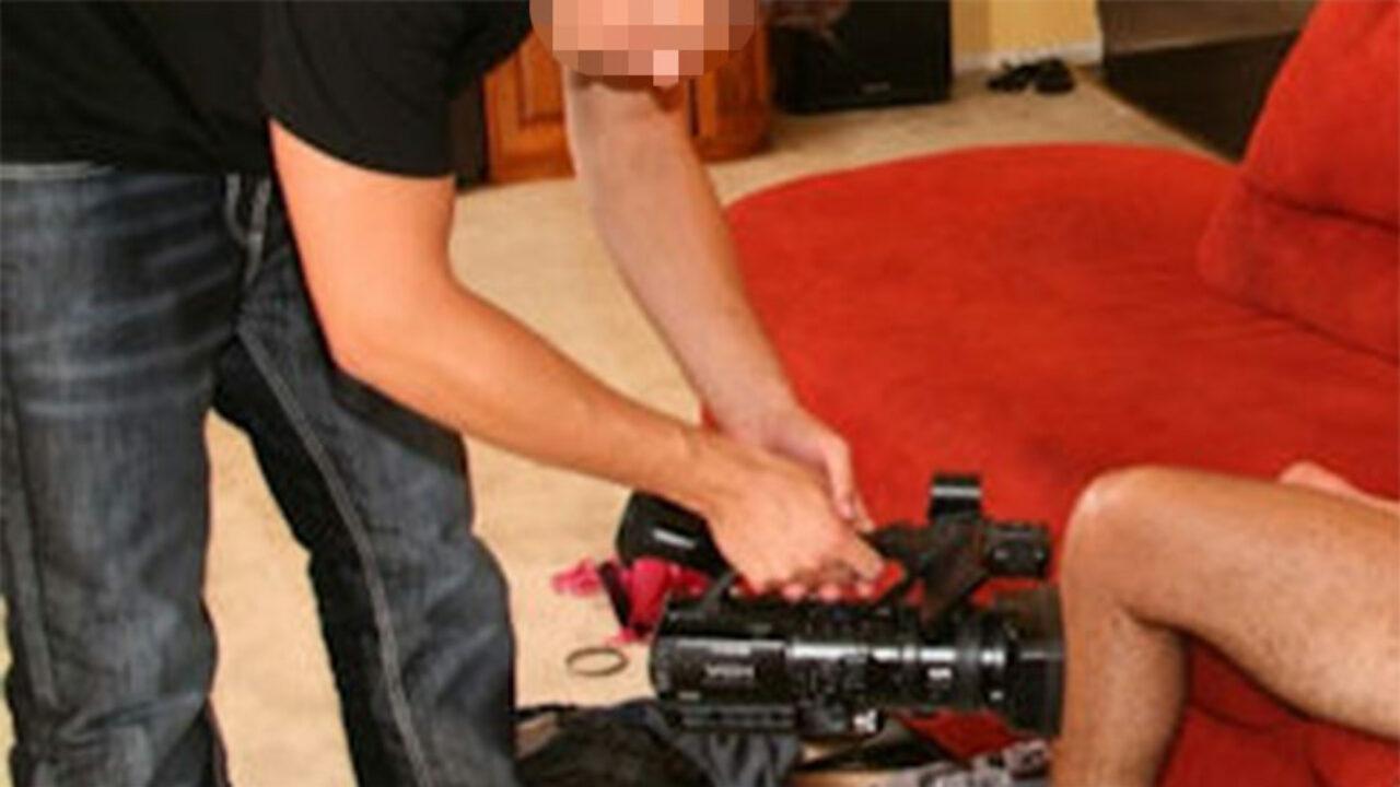 Accidentes Peli Porno ingresan a un cámara de cine porno tras recibir por