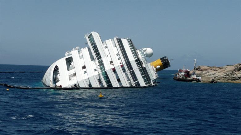 Naufraga crucero por el peso de sus clientes tras una semana de buffet libre