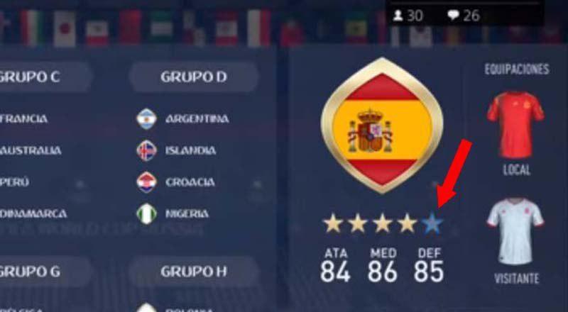 España pierde una estrella en FIFA 18 Por los malos resultados