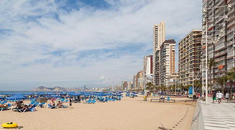 Las playas de Benidorm será asfaltada a petición de los alemanes