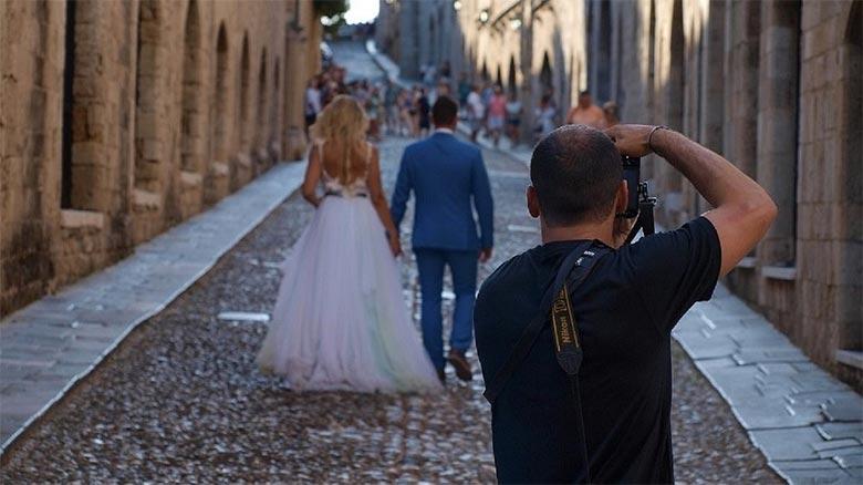 Novio pilla a la novia liada con el fotógrafo durante el reportaje de su boda