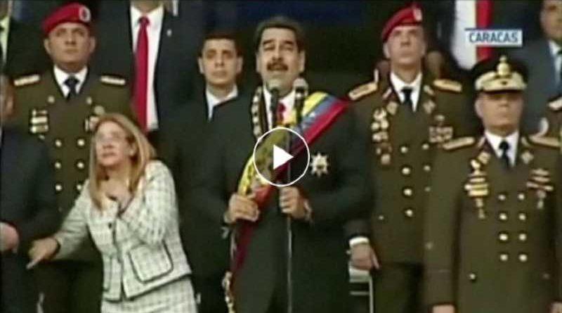 El supuesto atentado contra Maduro no fue más que el pedo de uno de los militares del desfile