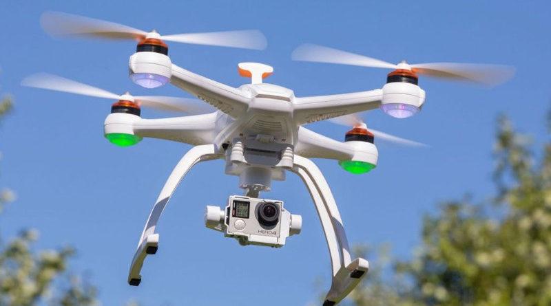 Un dron de prevención de incendios se estrella y provoca un incendio
