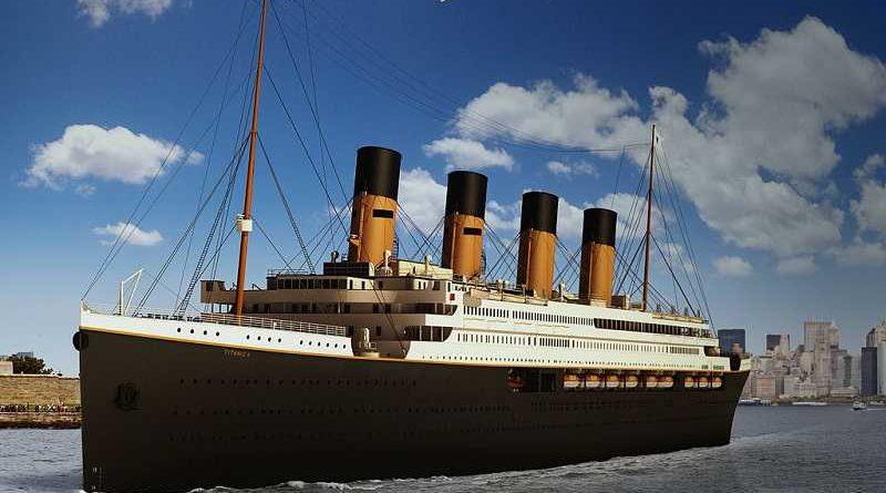 Un crucero realizará el viaje del Titanic con naufragio incluido para fans