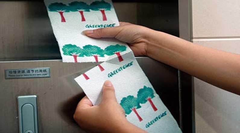 Greenpeace pide que se use menos papel para las masturbaciones