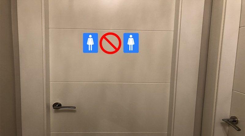 Nueva ley de hostelería prohíbe a las mujeres ir de dos en dos al baño