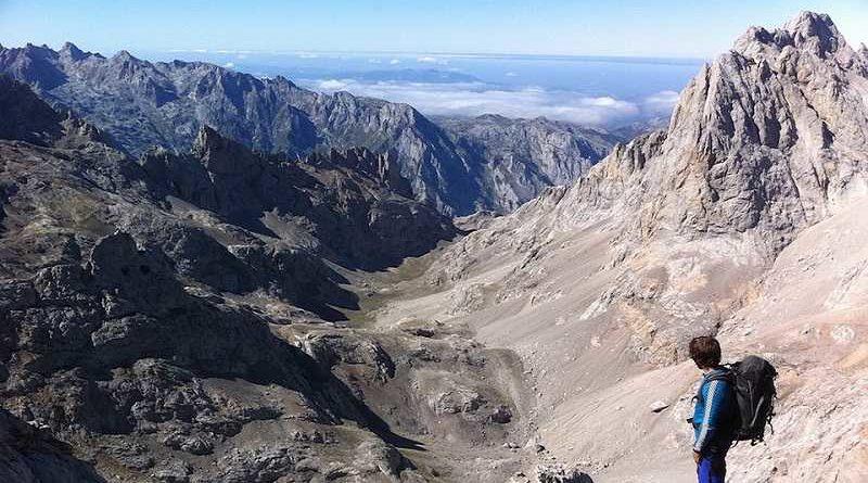 Rescatado montañista que escaló una montaña y luego no sabía bajar