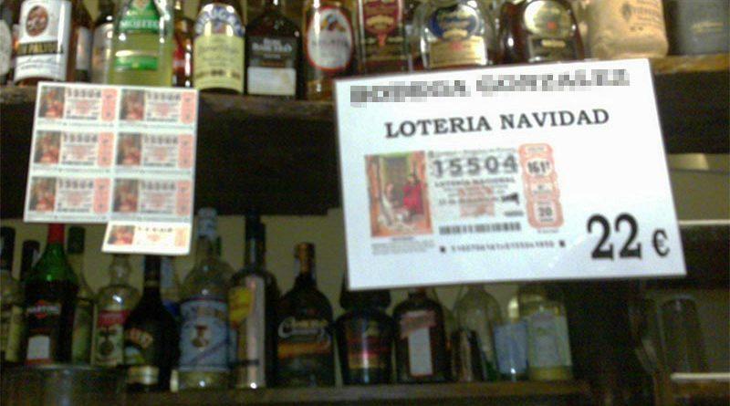Lo pilla su mujer al descubrir que el décimo de Lotería de su marido lo venden solo en el puticlub