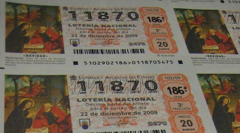 Podemos propone que la Lotería de Navidad no pueda tocarle dos veces al mismo