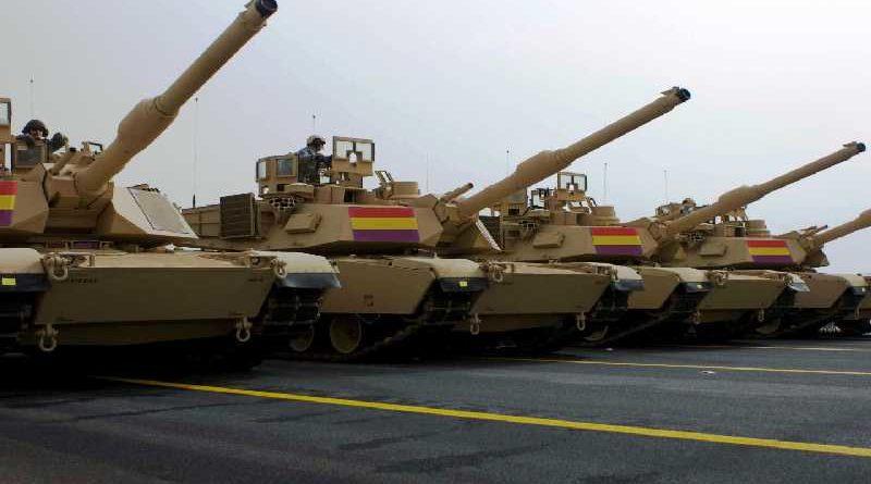 Defensa devuelve 75 tanques porque venían con la bandera republicana