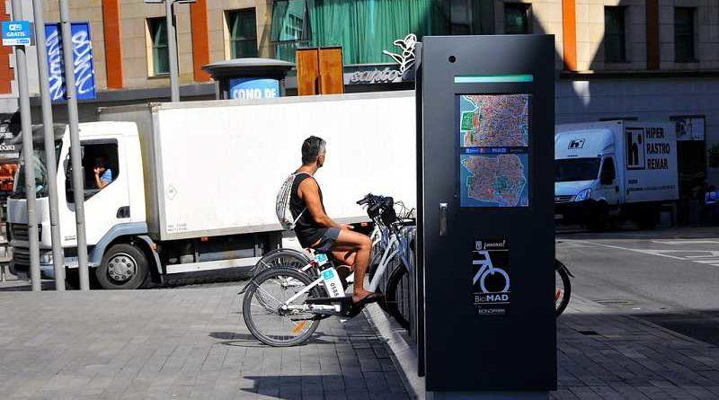 El ayuntamiento de Madrid denuncia la desaparición de los sillines de las bicis de alquiler en el barrio de chueca