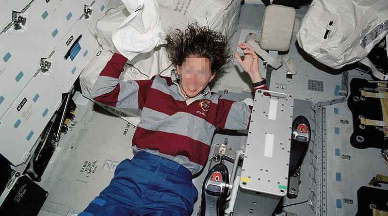 Una astronauta rusa da a luz en la Estación Espacial Internacional