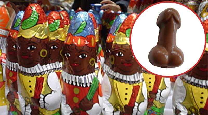 Denunciada tienda por vender Reyes Magos de chocolate con forma de pene