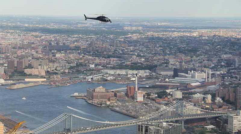 Sufre diarrea en la excursión en helicóptero por NY y llueve mierda sobre Central Park