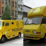 Asaltan por error una furgoneta de Matutano pensando que era un furgón de Prosegur