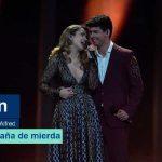 """La tv francesa pone """"España de Mierda"""" como canción de Amaia y Alfred por error"""
