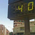 Los funcionarios podrán ausentarse en el trabajo a partir de 40°C