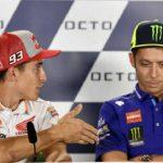 Rossi dice que no hará las paces con Marquez hasta que le deje ganar