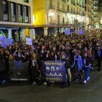Agredido en marcha feminista por repartir publicidad de vaporettas
