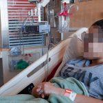 Hospitalizada tras casi ahogarse al tragar por error el condón de su marido